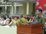 Trường Thực hành Sư phạm tuyên truyền phòng chống tệ nạn ma túy, an toàn giao thông