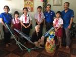 Thăm và tặng quà các gia đình chính sách dịp tết Kỷ Hợi 2019