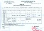Thông báo về việc bố trí lại lịch hoạt động của trường từ ngày 08/6/2020