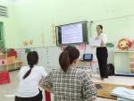 Tổ Mầm non tổ chức bồi dưỡng chuyên môn hè năm học 2020 – 2021