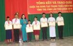 Học sinh Trường THSP đạt giải Cuộc thi sáng tạo thanh thiếu niên nhi đồng tỉnh Trà Vinh lần thứ 6- 2018
