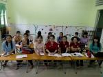 Tổ Mầm non tổ chức tập huấn chuyên môn hè