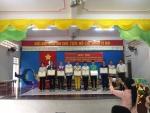 Hội thi Triển lãm và làm đồ dùng dạy học bậc học Mầm non cấp Thành phố