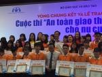 Học sinh Trường Thực hành sư phạm đạt giải Nhất toàn quốc cuộc thi An toàn giao thông cho nụ cười ngày mai