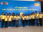 Học sinh Trường Thực hành Sư phạm Tham dự Cuộc thi Câu lạc bộ Toán tuổi thơ Toàn quốc năm 2018
