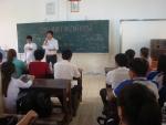 """Tổ Xã hội tổ chức buổi sinh hoạt ngoại khóa """"Đờn ca tài tử"""""""