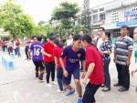 Giao lưu thể thao chào mừng ngày Học sinh – Sinh viên và Hội Sinh viên Việt Nam