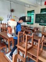 Trường Thực hành Sư phạm phòng chống bệnh sốt xuất huyết trong trường học