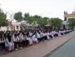 Buổi sinh hoạt chào cờ đầu năm mới Đinh Dậu 2017