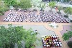 Lễ chào cờ đầu tiên của năm học mới 2017- 2018