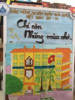 Hội thi Báo tường chào mừng ngày Nhà giáo Việt Nam