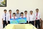 Công ty Mobifone trao học bổng cho học sinh trường Thực hành Sư phạm