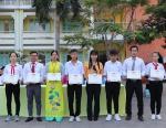 Lễ chào cờ cuối của học kỳ I (2019-2020) – Khen thưởng học sinh và giáo viên đạt thành tích cao trong hội thi cầu lông