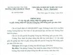 THÔNG BÁO VỀ VIỆC NHẬN GIẤY CN TỐT NGHIỆP TẠM THỜI VÀ BẢNG ĐIỂM TN THPT QUỐC GIA NĂM 2016