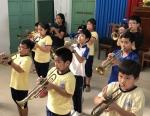 Bế giảng lớp trống, kèn Đội TNTP Hồ Chí Minh hè 2020